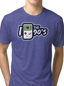 I Love the 90's Tri-blend T-Shirt