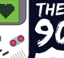 I Love the 90's Sticker