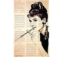 Audrey Hepburn an02 Photographic Print