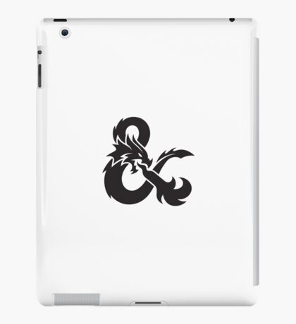 dungeons and dragon logo dnd iPad Case/Skin