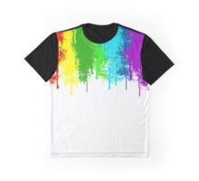 Spray paint dripping Graphic T-Shirt