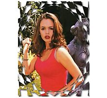 Buffy Angel Faith Eliza Dushku Photographic Print
