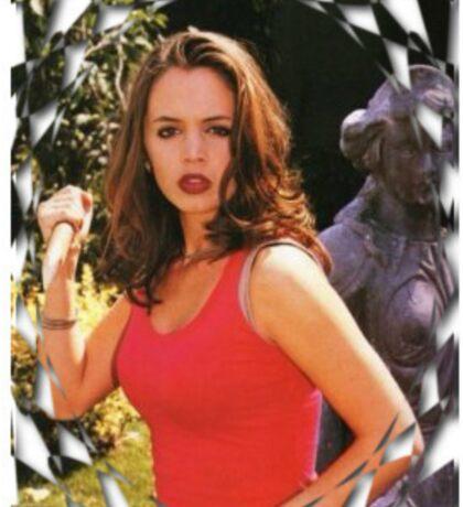 Buffy Angel Faith Eliza Dushku Sticker