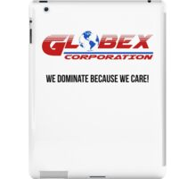 Globex corporation official atire iPad Case/Skin