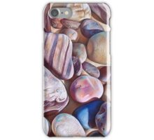 """Pallette of stones - Hallett Cove beach SA"" - detail  iPhone Case/Skin"