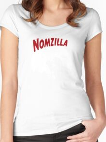 Nomzilla Women's Fitted Scoop T-Shirt