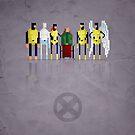 8-Bit Marvels Xmen by Paulo Capdeville