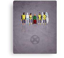 8-Bit Marvels Xmen Canvas Print