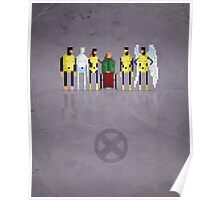 8-Bit Marvels Xmen Poster