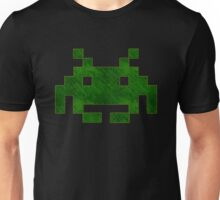 °GEEK° Space Invaders Green Denim Unisex T-Shirt
