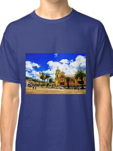 Gualaceo Town Square, Church and Park Classic T-Shirt