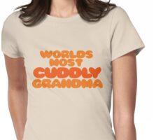 Cuddly Grandma Womens Fitted T-Shirt