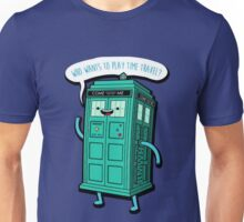 Adventure Time BMO-doctor who Unisex T-Shirt