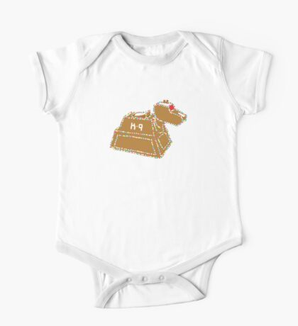 Gingerbread K-9 One Piece - Short Sleeve