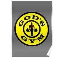 God's Gym (God of War) Poster