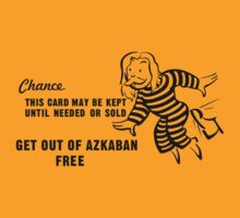 Get Out of Azkaban Free Card T-Shirt