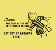Get Out of Azkaban Free Card Kids Clothes