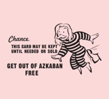 Get Out of Azkaban Free Card One Piece - Long Sleeve