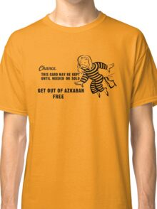 Get Out of Azkaban Free Card Classic T-Shirt