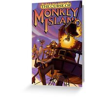 Monkey Island 3 Greeting Card