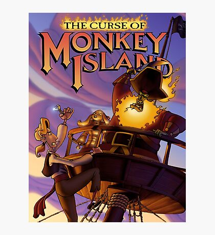 Monkey Island 3 Photographic Print