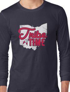 Tribe Time - Cleveland Baseball Long Sleeve T-Shirt