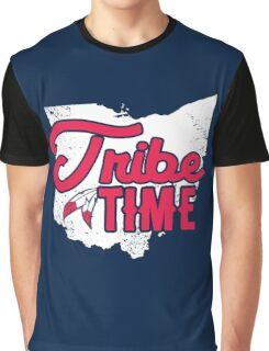 Tribe Time - Cleveland Baseball Graphic T-Shirt