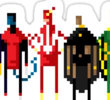 8-Bit Marvels Xmen 2.0 Sticker