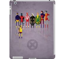 8-Bit Marvels Xmen 2.0 iPad Case/Skin
