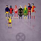 8-Bit Marvels Xmen 2.0 by Paulo Capdeville