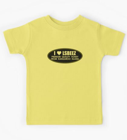 I LOVE LSBEEZ v2 Kids Tee