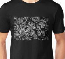 Black and White Zebra Plant Unisex T-Shirt