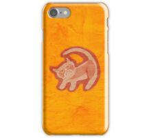 Grumpy King (textured) iPhone Case/Skin