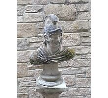Roman Officer Bust Photographic Print