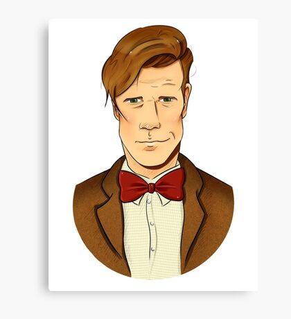 11th Doctor - Matt Smith Canvas Print
