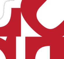 LUST (red variant) Sticker