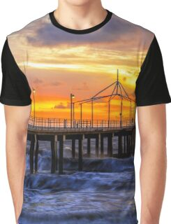 Sunset on the jetty Graphic T-Shirt