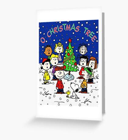 CHARLIE BROWN CHRISTMAS 2 Greeting Card