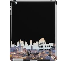 Rome Hill View Black iPad Case/Skin