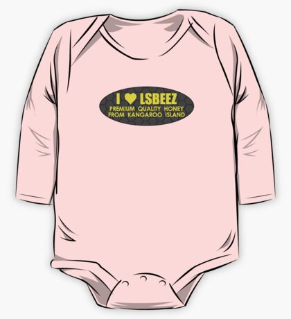 I LOVE LSBEEZ v3 One Piece - Long Sleeve