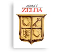 Zelda Logo Metal Print