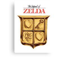 Zelda Logo Canvas Print