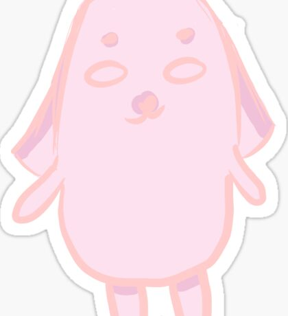 Mr. Pink Potato Sticker Sticker