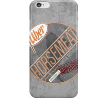 Uber Brand Horsemeat - Weathered with Stamp iPhone Case/Skin