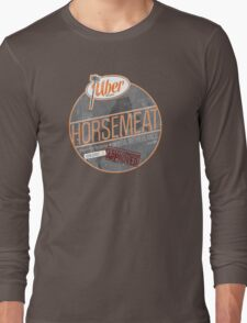 Uber Brand Horsemeat - Weathered with Stamp Long Sleeve T-Shirt