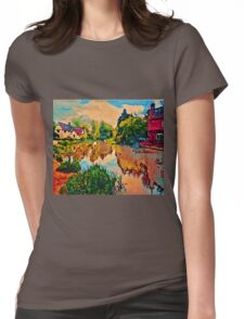 COUNTRY COTTAGES 1D-T Womens Fitted T-Shirt