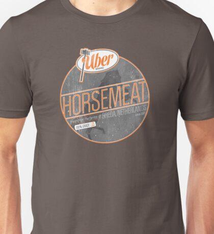 Uber Brand Horsemeat - Weathered - no stamp Unisex T-Shirt