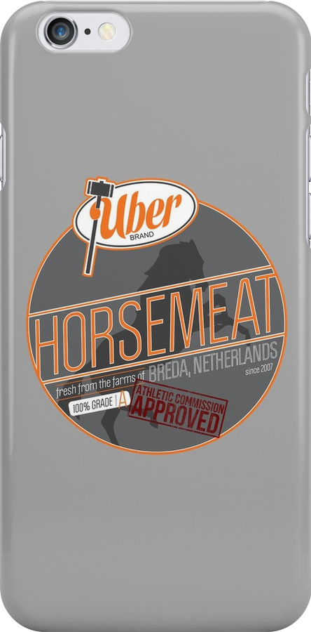 Uber Brand Horsemeat - Plain - with stamp by huckblade