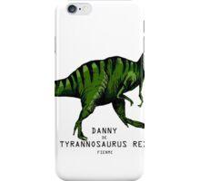 danny de tyrannosaurus rex  iPhone Case/Skin