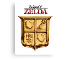 Zelda Logo 2 Canvas Print